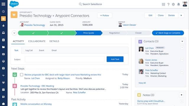 Salesforce Lightning Experience: Learning for Developers ...